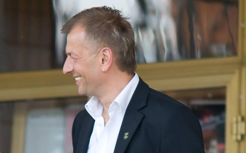 Prezes Piłkarskiej Spółki Akcyjnej Stal Stalowa Wola Mariusz...