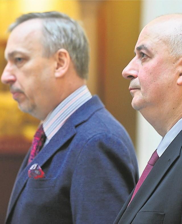 Bogdan Zdrojewski i Piotr Oszczanowski przygotowują wydarzenie specjalne - wielką niespodziankę wystawienniczą