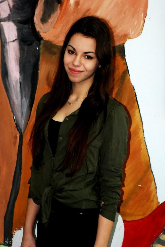 Marta Struzik z II Liceum Ogólnokształcącym im. Jana Matejki w Siemianowicach Śląskich