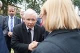 Jarosław Kaczyński złożył kwiaty przy pomniku Wielkiej Synagogi (zdjęcia, wideo)