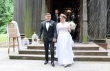 Aleksandra Skalska i Dawid Ruszczyk, czyli znana fizjoterapeutka poślubiła radnego w Bardzicach (ZDJĘCIA)