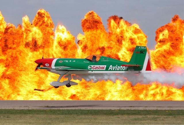 Samolot Extra 330SC - taka maszyna została przechwycona nad Częstochową