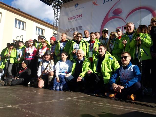 Bieg po Nowe Życie w Wiśle odbył się po raz czwarty. Niezmiennie mówi o transplantacji.