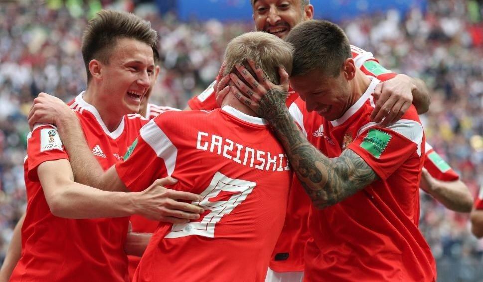5dd42dea2 Rosja - Arabia Saudyjska 5:0 na otwarcie mundialu [WYNIK, YOUTUBE ...