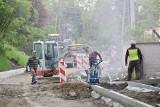 Wieliczka. Przebudowa ulicy Szpitalnej powoli zmierza do finału [ZDJĘCIA]