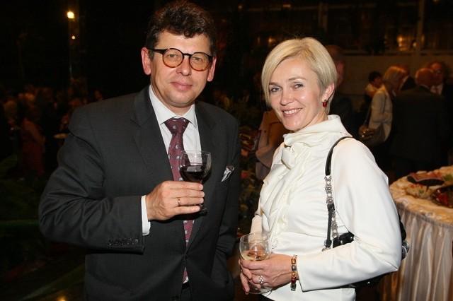Dorota i Tomasz Tworek - właściciele firmy Dorbud z Kielc. Znani z wielu artystycznych działań poza biznesem.