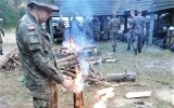 Żołnierze Wojsk Obrony Terytorialnej z Radomia ćwiczyli w Puszczy Kozienickiej. To była sztuka przetrwania