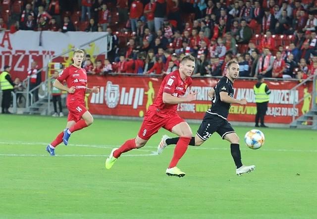 Marcin Robak zagrał we wszystkich meczach Widzewa w pełnym wymiarze czasowym