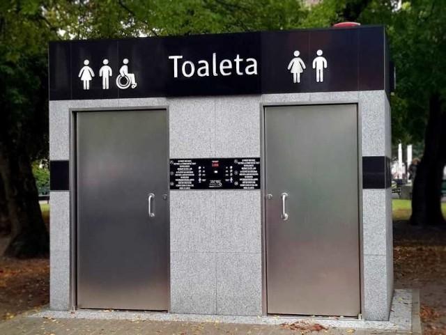 Przykładowa toaleta serii City. Podobna ma stanąć w parku w Zduńskiej Woli