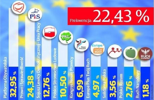 Jak Wielkopolanie zagłosowali w wyborach do PE