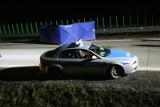 Śmiertelny wypadek na autostradzie. Pieszy potrącony przez samochód
