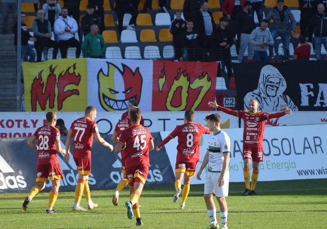 Chojniczanka Chojnice wygrała 5:0 z GKS Bełchatów