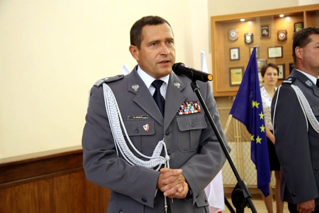 Dariusz Działo był szefem KWP w Lublinie od jesieni 2014 roku.