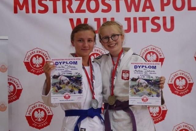 Wiktoria Mulka została mistrzynią Polski w ju jitsu w kategorii U21.