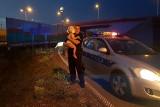 Pijany łodzianin uciekał z 2-letnią córką w aucie. Pędził ulicami, pojechał rondem pod prąd [zdjęcia]