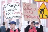 Pracownicy czy niewolnicy? Protest byłych portierek ZKZL pod Urzędem Miasta. Pracownicy wciąż nie odzyskali pieniędzy. Dług wynosi 315 tys.