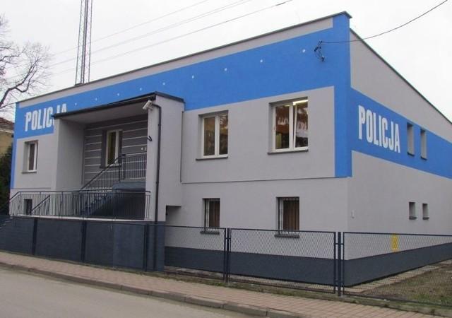 Komisariat policji w Dobczycach