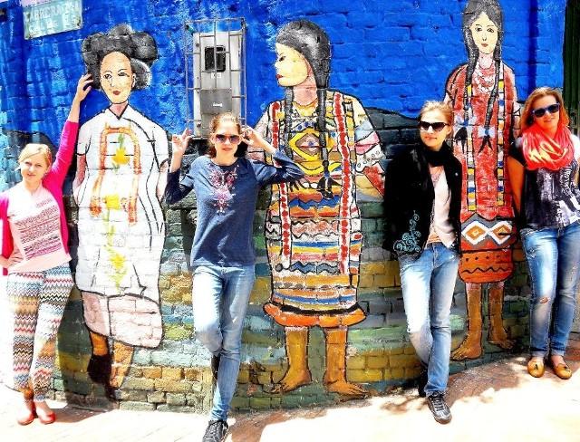 Kwartet Be Four. Od lewej:  Karolina Piesik, Anna Komendzińska, Brygida Sawicka-Stępińska i Kamila Tracewska.