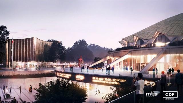 Ponad 100 milionów złotych będzie kosztować modernizacja Areny. Tak hala ma wyglądać po jego ukończeniu.Kolejny slajd --->