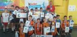 """Finał wojewódzki """"Kinder Joy of Moving"""" z trzema medalami Wifamy Łódź. Zdjęcia"""