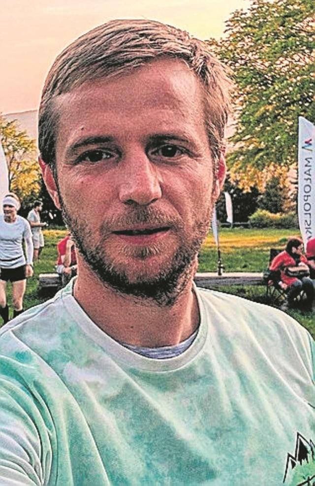 Piotr Korbas, prezes Dobczyckiego Klubu Biegacza
