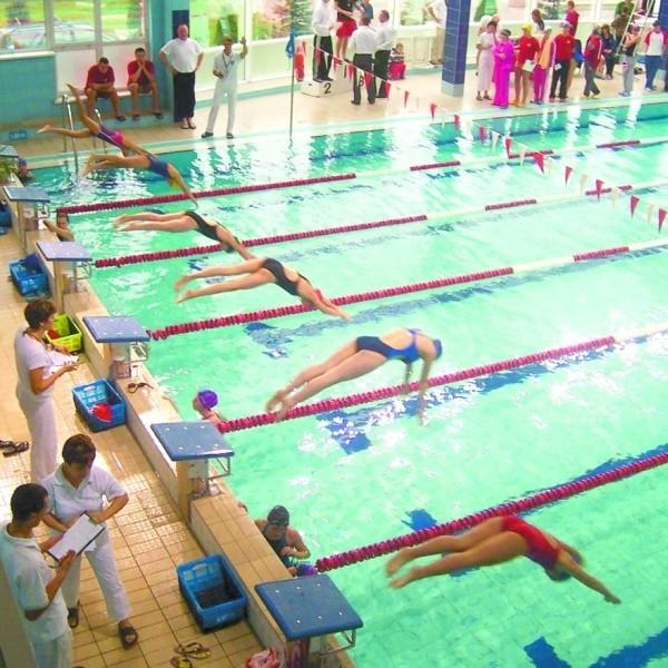 Zawody odbyły się na pływalni miejskiej w Sokółce
