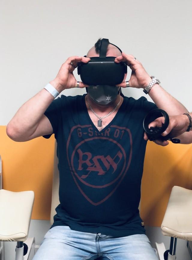 Okulary VR, pomogą zapomnieć o szpitalnej rzeczywistości pacjentom onkologicznym.