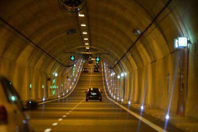 Tunel pod Martwą Wisłą ma około kilometra długości. Obowiązuje w nim zakaz ruchu rowerów.