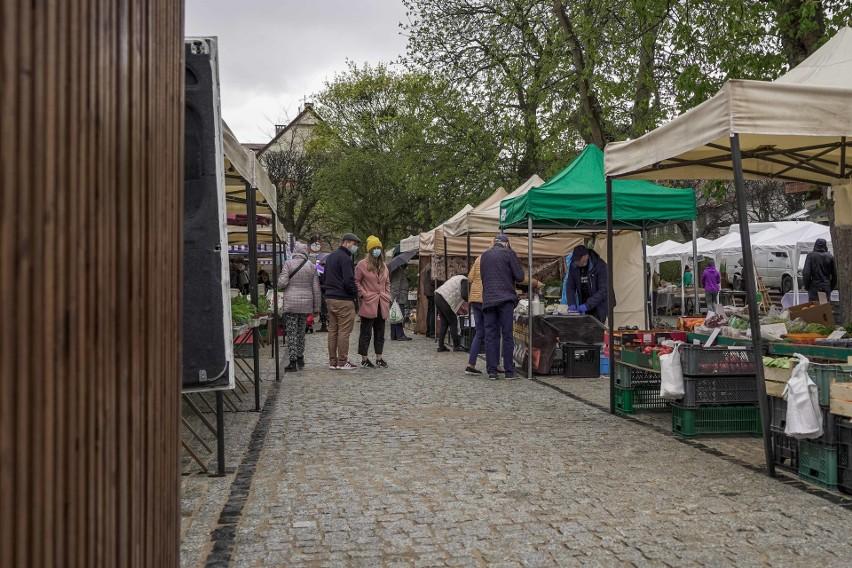 W sobotę 8.05.2021 nastąpiło nowe otwarcie Rynku w Oliwie