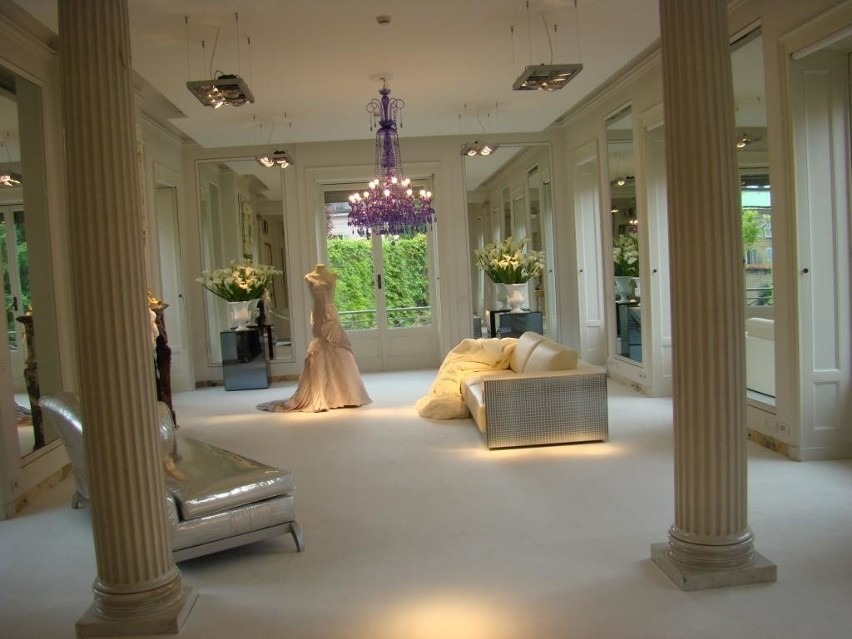 Tak wygląda rezydencja Donatelli Versace w samym centrum Mediolanu. fot. M. Bartosiewicz