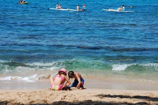 Według prognoz IMGW sobota jest dobrym dniem na wybranie się nad morze, w niedzielę może popadać...