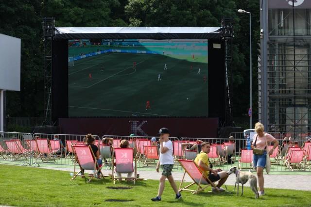 Mecze Euro 2020 można oglądać w Strefach Kibica w różnych miastach.