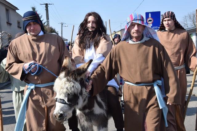 Niedziela Palmowa w Warcie. Wjazd Chrystusa do Jerozolimy