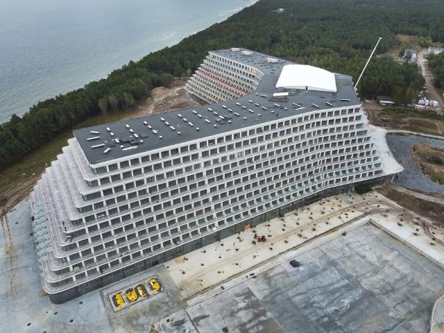 Hotel Gołębiewski w Pobierowie