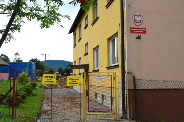 Rozbudowa z przebudową budynku przedszkola w Wiśniowej
