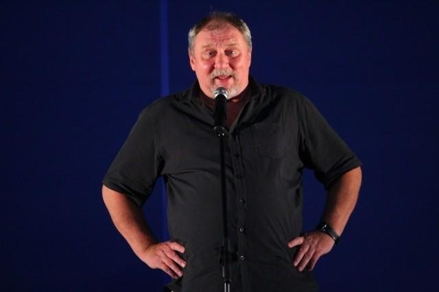 Andrzej Grabowski występuje na pokazach garnków.