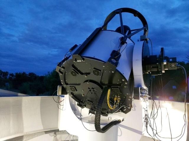Globalny Teleskop Astrofizyczny od kilku lat działa w Chalinie.