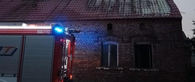 W pożarze domu w Gościkowie zginęła jedna osoba