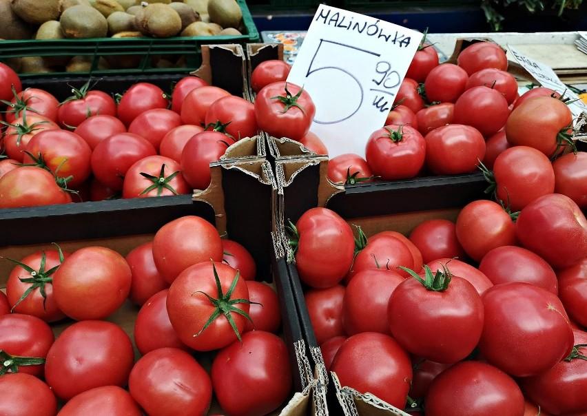 pomidory: 4,50-6,40 zł (30.06-1.07)