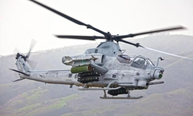 Śmigłowiec Bell AH1Z Viper w całej okazałości
