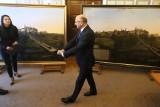 Generał Zajączek wjechał na Zamek Lubelski. Kopia obrazu w zbiorach muzeum
