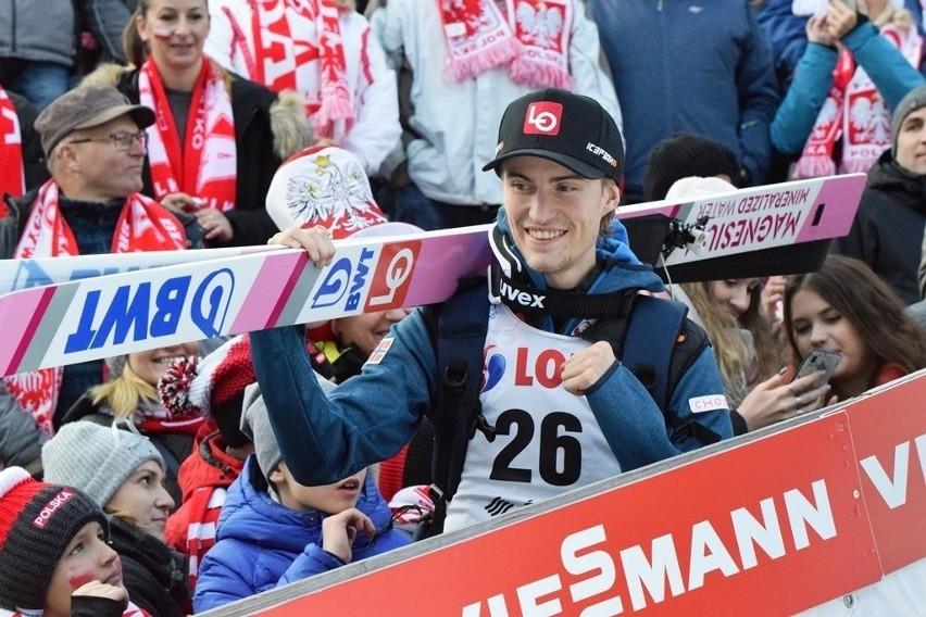 Daniel Andre Tande - zwycięzca zawodów w Wiśle