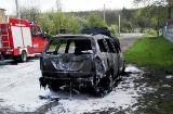 Pożar auta w Bukowicy [ZDJĘCIA]