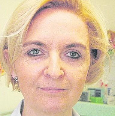 Doktor  Agnieszka Rogocka, lekarka rodzinna z Podczela.