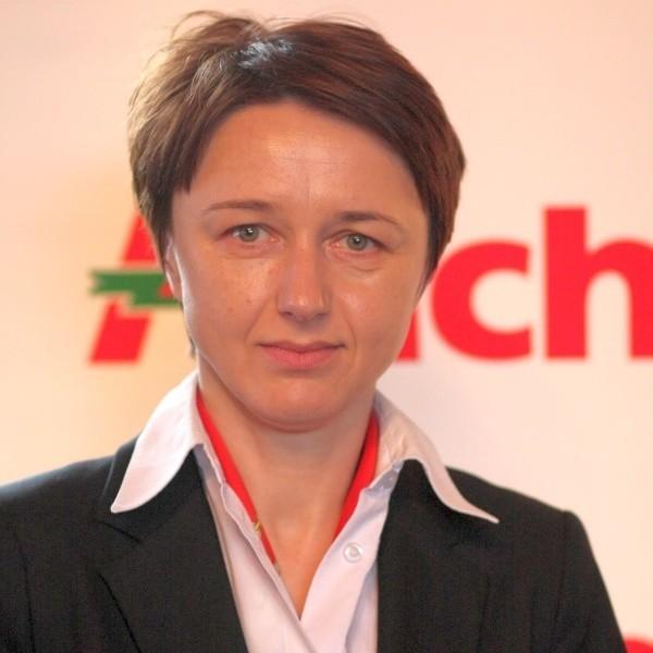 W sklepie przy Produkcyjnej byłam szefem sektoru kas - opowiada Justyna Babińska, dyrektor Auchan Hetmańska