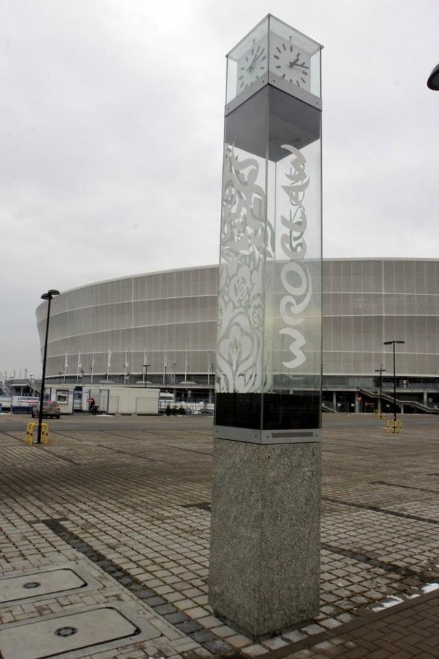 Zegar odliczał czas do Euro 2012, teraz zmierzy okres do World Games 2017