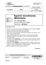 Egzamin ósmoklasisty 2021 matematyka [CO BYŁO? ZADANIA, ROZWIĄZANIA, ODPOWIEDZI Z MATEMATYKI + ARKUSZE CKE]