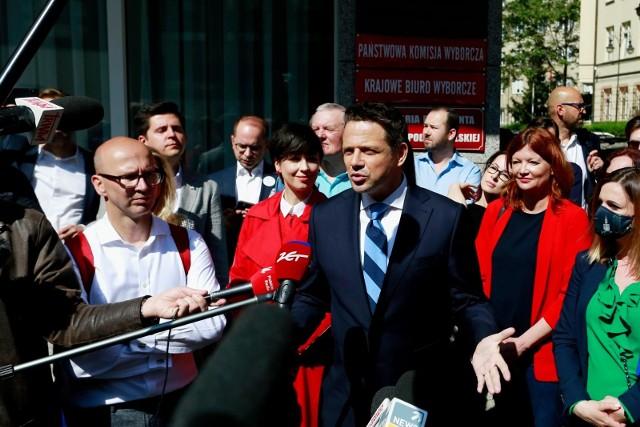 Rejestracja komitetu wyborczego Rafała Trzaskowskiego