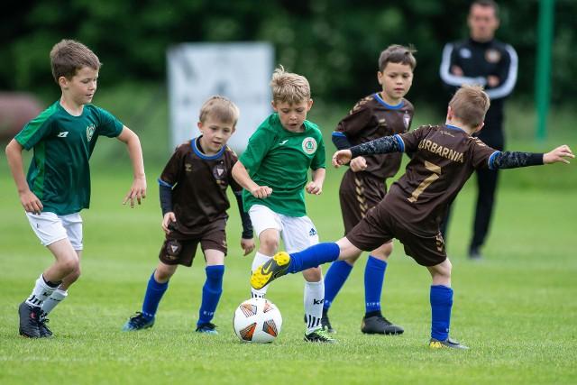 Turniej piłkarski w kategorii U-7, zorganizowany z okazji 100-lecia Garbarni Kraków
