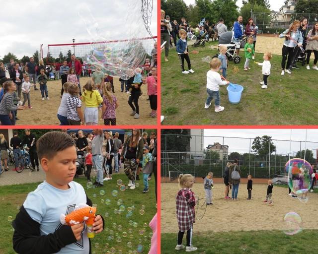 W Brodnicy żegnano lato podczas Festiwalu Baniek Mydlanych